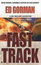 Fast Track: A Dev Mallory Adventure by Edward Gorman (Paperback / softback)