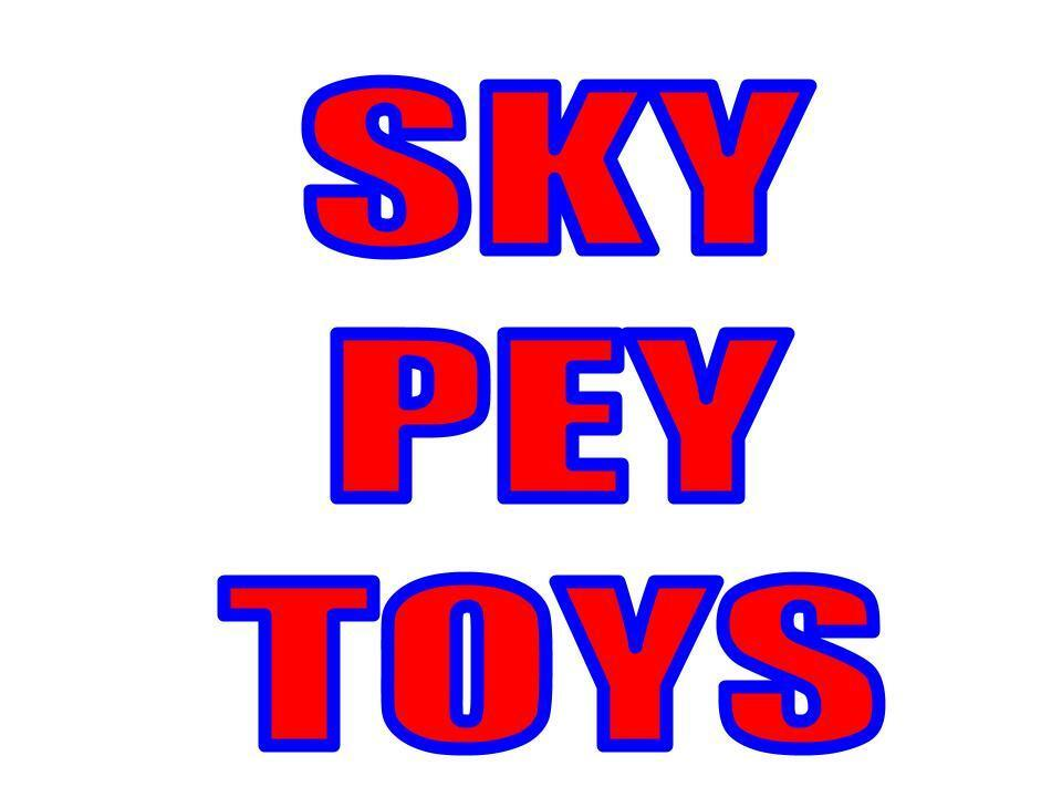 SkyPey toys and stuff
