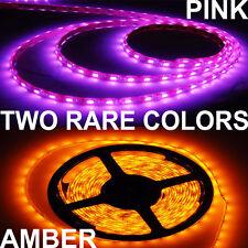300 LED Strip Light - LED Strip light - 5m roll Amber Pink color Strip