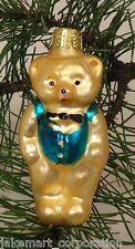 Teddy Bear Old World Ornament European Glass