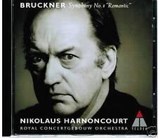CD BRUCKNER SYMPHONY NO 4 ROMANTIC NIKOLAUS HARNONCOURT ROYAL CONCERTGEBOUW