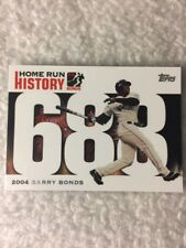 2006 Topps Barry Bonds #688 Baseball Card