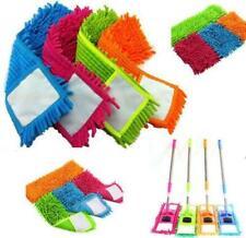 Microfiber Flat Mop Cleaner Sweeper Wet & Dry Floor Dust Cleaning UK