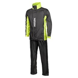 Complet Anti-pluie Veste Et Pantalon HEVIK Twister HRS109Y Noir/Jaune 3XL