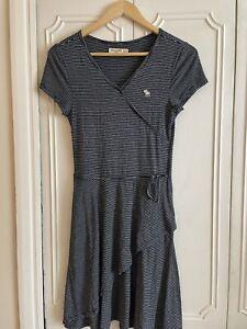 Abercrombie Kids Girls Navy Striped Dress Age 15/16