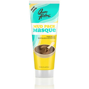 [QUEEN HELENE] MUD PACK MASQUE RINSE OFF FACIAL MASK 8OZ