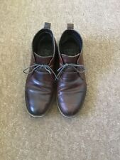 NEXT MENS BROWN LEATHER BOOTS - SIZE 8
