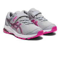 Asics Girls GT-1000 10 PS Boys Running Shoes Trainers Sneakers Grey Pink Sports