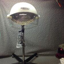 Babyliss Pro DB2000 Hard Hat Ionic Hood Dryer Aux Music Player Rolls-DEVA CURL