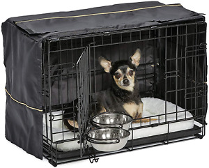 Icrate Dog Crate Starter Kit   22-Inch Dog Crate Kit Ideal for XS Dog Breeds Wei