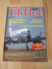 FLY PAST MAGAZINE AUGUST 1993 - SAA DC-4, NOSE ART, SUNDERLANDS + MUCH MORE