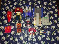 Lot of USED Hasbro Takara G1 Transformers Action Master Pretender Optimus Prime