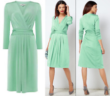 BNWT ISSA LONDON KATE MIDDLETON MINT DRESS 14 RRP£99 WEDDINGS/CHRISTENING/PARTY