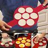 Pancake Maker Silikon Form Backen Flippin Nonstick Pfannkuchen Kuchenform Mold