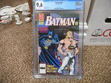 Batman 469 cgc 9.6 DC 1991 Shadow Box part 3 Tom Lyle cover WHITE pg NM MINT