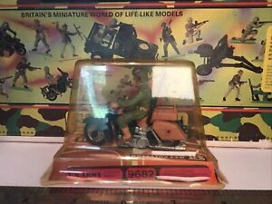 Britains US Army Dispatch Rider Boxed