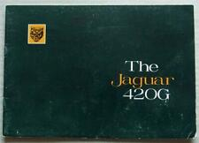 JAGUAR 420G Car Sales Brochure c1967