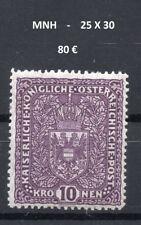 AUSTRIA 1917/19 , MNH, MICHEL 211 I.A   -  25 X 30  ,    COTE  80 €