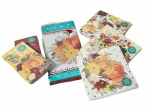 The Pioneer Woman Fall Thanksgiving Lot 6 Napkins Tablecloth Pumpkin Flowers