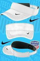 Nike Dri-FIT Swoosh Visor Men's Adjustable Strapback Cap Authentic Hat Golf