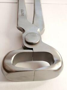 """GE type Professional Farrier Nail nipper  hoof Nipper 15 """" Vanadium Steel"""