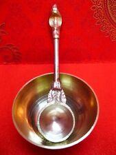 Brass Bowls Spoon Hindu Puja item India Havan Aarti Tika Mauli Roli