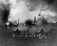 RAF WW2 St Paul Cathedral Germany Bombing London 1940 8x10 Photo The Blitz