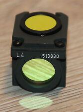 Leica/LEITZ MICROSCOPIO Microscope FILTRO cubo l4 (N. 513830) per fluorescenza
