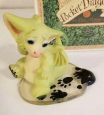 """Inky Splat"" Whimsical World Pocket Dragons Real Musgrave w Box"