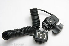 RPS Lighting TTL Cord for Nikon Fuji i-TTL w Swivel 2M Coiled RS-0441/2 NEW E29