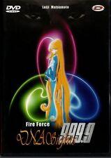 DNA SIGHTS 999.9 FIRE FORCE DVDS LEIJI MATSUMOTO (albator harlock) ss titres fra