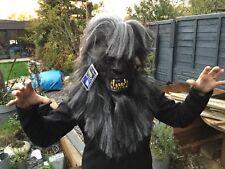 Adult Mask Halloween Werewolf Wolf Fancy Dress Accessory New MARIO CHIODO