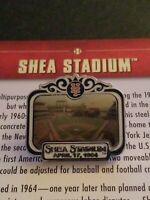 WILLABEE & WARD SHEA STADIUM NEW YORK METS MLB BASEBALL PIN W/CARD