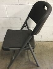 Commercial Restaurant Cafe Used Heavy Duty Folding Stackable Chair