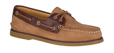 Sperry Gold Cup A/O 2 EYE Tan Nubuck Boat Shoe Men's sizes 7-12/NEW