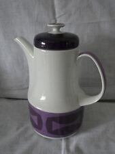 Große Porzellan Kaffeekanne von Schönwald Form H.Th.Baumann Retrodesign 80051  X