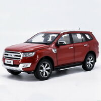 1/18 Scale Ford Everest Titanium SUV U375 Red DieCast Car Model Toy Collection