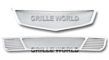 For 2009-2010 Acura TSX Stainless Steel Mesh Premium Grille Grill Combo Insert