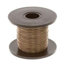 Gunmetal Beading Copper Craft Wire 0.20mm (32 AWG) 175 Metre Reel (C106/3)
