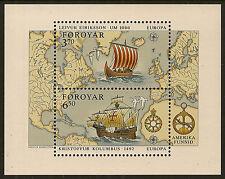 Sheet Danish & Faroese Stamps