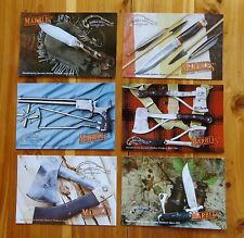 Marble's - Marble Arms - Marble Safety Axe Co. Set of 6 Vintage Style Postcards