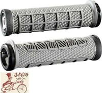 ODI ELITE PRO LOCK-ON GRAPHITE GREY BMX-MTB BICYCLE GRIPS