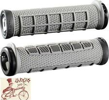 ODI ELITE PRO LOCK-ON GRAPHITE GREY BMX-MTB BICYCLE GRIPS