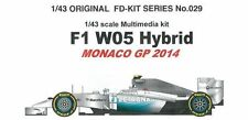 Studio27 1/43 W05 Ibrido Monaco Gp 2014 Multimedi Kit