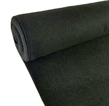 5 Yards Black Upholstery Durable Un-Backed Automotive Trim Carpet 40