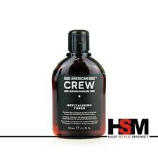 American Crew Revitalizing Toner Lozione Tonificante Pelle Uomo Rasatura 150 ml