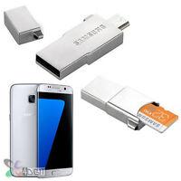 Genuine Samsung SM-G935 Galaxy S7 EDGE Micro 32GB Memory Card+OTG USB Reader