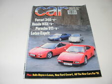 CAR       MAGAZINE       FROM  OCTOBER     1990   ENGLISH MONTHLY