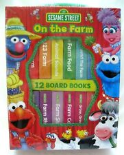 Elmo and Friends On the Farm 12 story and learning lessons Books-New!