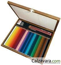 Stabilo Cassetta Legno Acquacolor 36 colori 3 Matite 1 temperino 1 Gomma